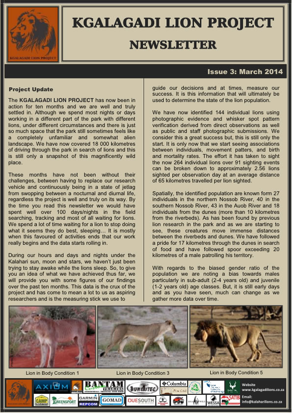 SCT_KLP Newsletter_Issue3_March14