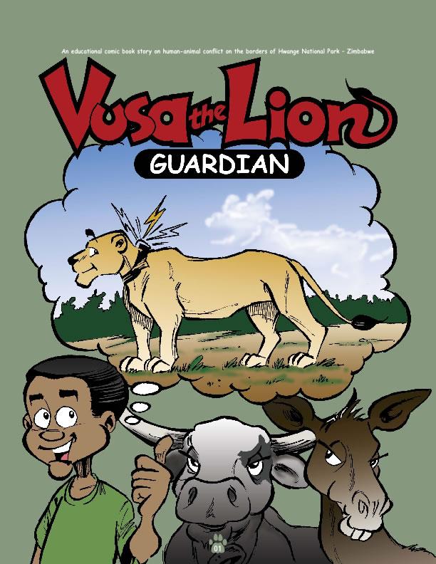 VUSA Comic Book-ENGLISH
